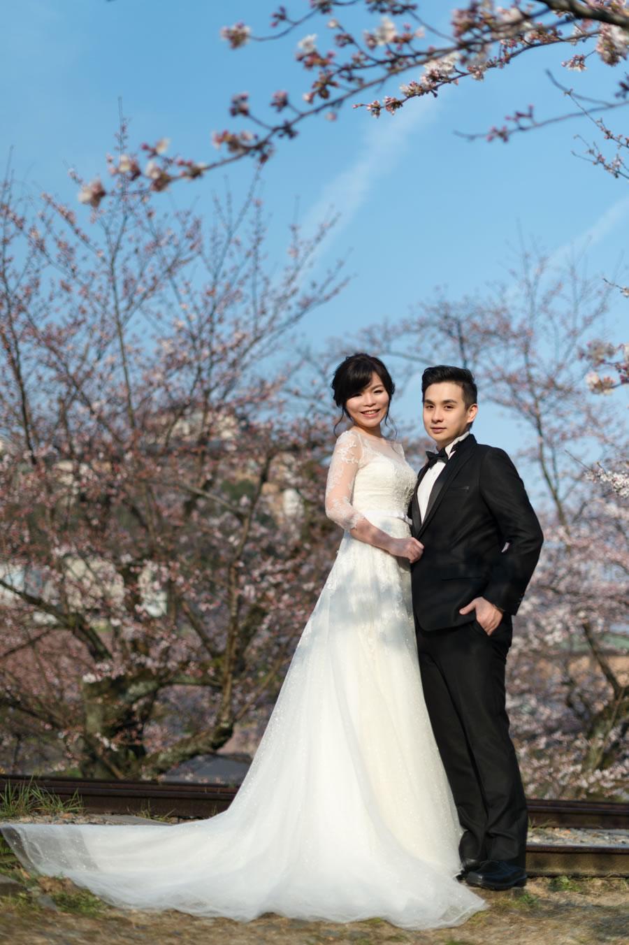 蹴上鐵道, 櫻花婚紗, Pre-wedding, 京都婚紗攝影, 海外婚紗, 自助婚紗, 自主婚紗, 手工婚紗, 自助婚紗工作室, 婚紗攝影工作室, 婚攝roger