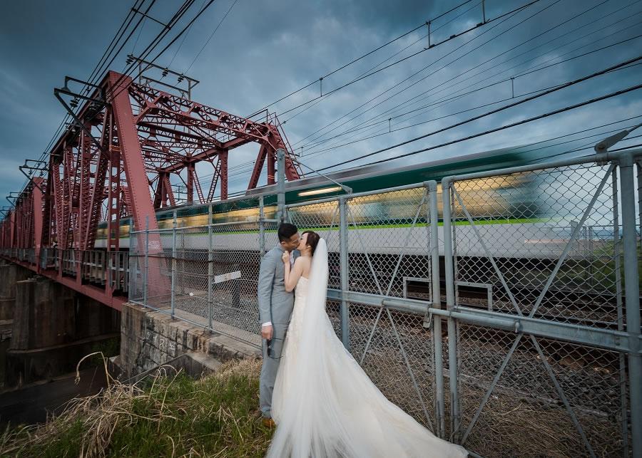 海外婚紗   Carmen & Johnny, 日本 京都 櫻花 自主婚紗