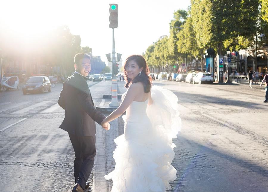 凱旋門, 香榭大道, 法國婚紗, 巴黎婚紗, 海外婚紗, Pre-wedding, 自助婚紗, 海外婚紗, 婚紗攝影, 手工婚紗 ,自助婚紗工作室, 婚紗攝影工作室 ,手工婚紗, 婚攝roger