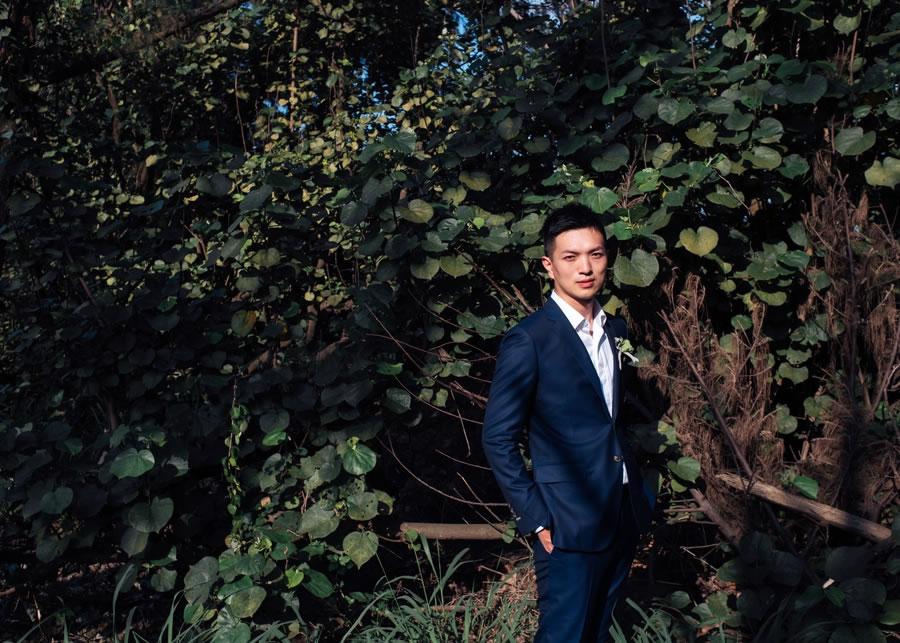 台中柳原教會 自助婚紗 | Ann & Ben, 單車婚紗