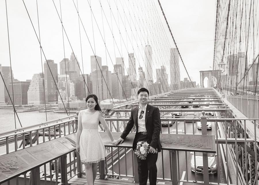 紐約婚紗 | Diana & Eric, 布魯克林大橋, 中央公園, 時代廣場, 帝國大廈 - Roger Wu Studio, 中央公園