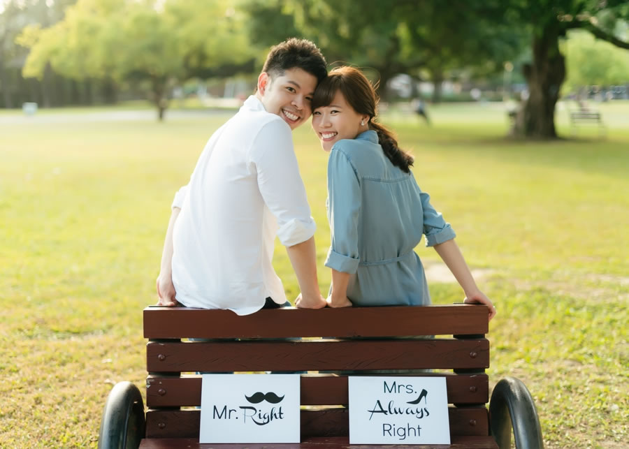 PUGU 田園雜貨 自助婚紗 , Annie & Eric, 心情筆記:在我面前那麼低調的兩個人,背後其實有個喧鬧的小世界,今天我們不拍白紗,只拍愛