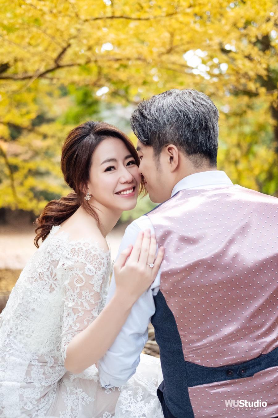 日本 京都 奈良 楓葉 婚紗攝影 | Wayne & Andrea