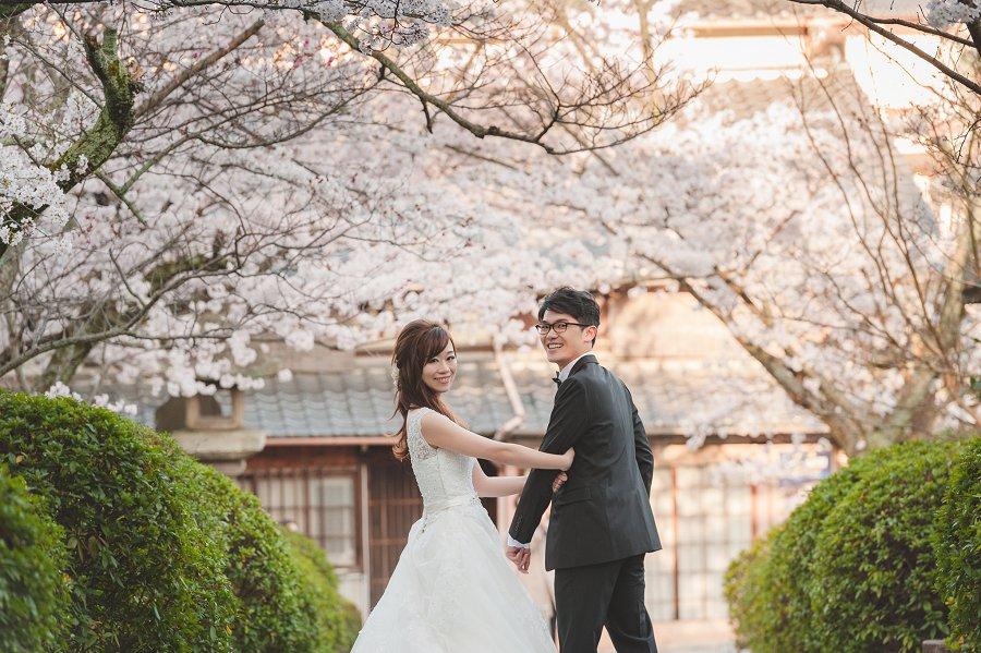 海外婚紗   Kiki & Authur, 櫻花京都