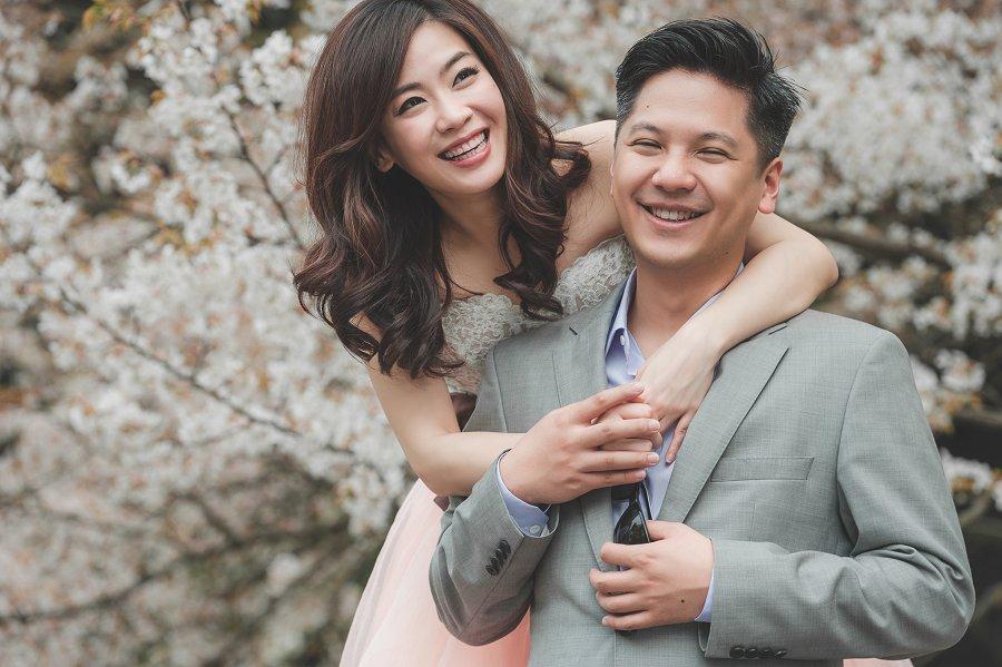 海外婚紗   Carol & Jeffery, 櫻花京都