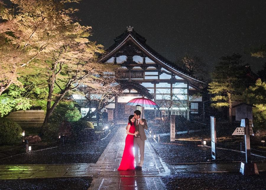 海外婚紗   Hank & Pei, 日本 京都 櫻花 婚紗, 自主婚紗