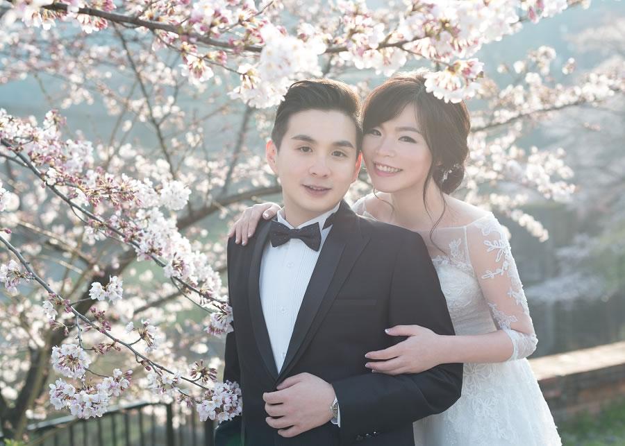京都婚紗   Tim & Han, 日本 京都 櫻花 自主婚紗 海外婚紗