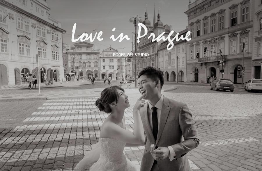布拉格婚紗   Elaine & Chi, Prague 海外自助婚紗