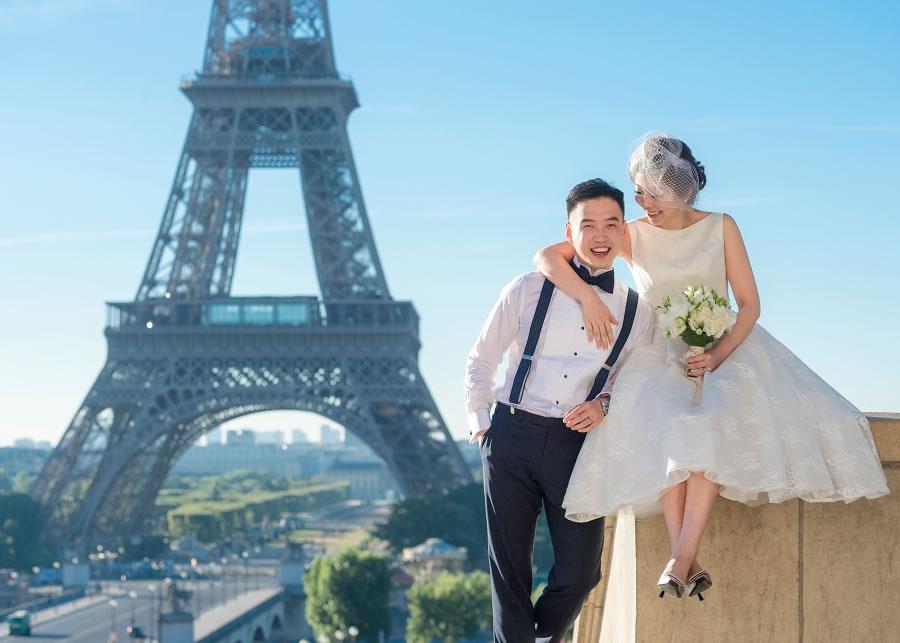 海外婚紗, 巴黎